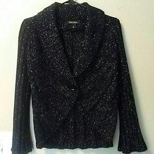 White House Black Market Knit Blazer